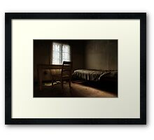 12.4.2013: Silent Evening Framed Print