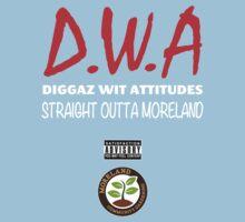 Diggaz wit attitudes Kids Tee