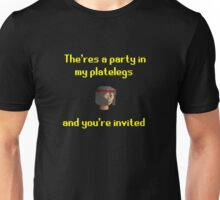 Runescape - Party in my platelegs Unisex T-Shirt