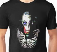Gas Mask Skeleton Unisex T-Shirt