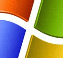 Windows XP Pillow Sticker