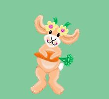 Cutie Bunny Rabbit with a carrot by jazzydevil