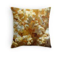 Popcorn Treat Throw Pillow