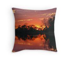 April 2013 Sunset Throw Pillow