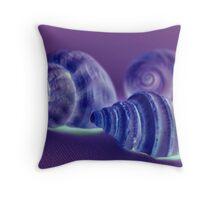 Sea Shells Off The Seashore Throw Pillow