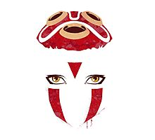 Mononoke Mask Photographic Print