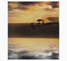 Sunset silhouette  Kids Tee