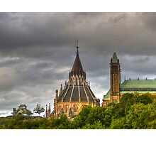 The parliament in Ottawa HDR Photographic Print