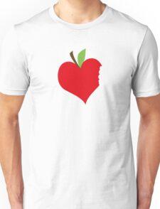 Heart Apple Unisex T-Shirt
