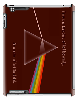 Dark Side iPad Case (Red Shift) by Brian Varcas