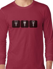 Velodrome City Icon Series V2 no.3 Long Sleeve T-Shirt