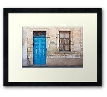 Malta 18 Framed Print