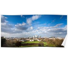 London View from Greenwich Park Poster