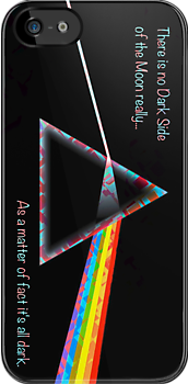 Dark Side iPhone case - Harlequin Variation by Brian Varcas
