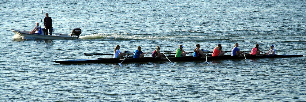 Rowing The Potomac River by Cora Wandel