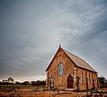 Church at Greenough  by Pene Stevens
