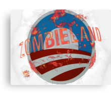 Zombie Land Canvas Print