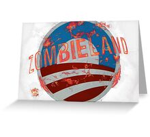Zombie Land Greeting Card
