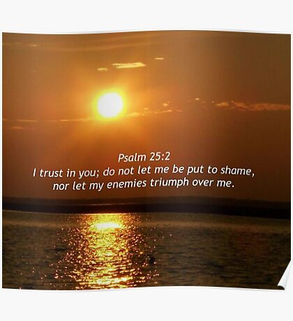 Psalm 25 2 Poster