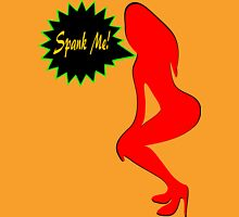 ★ټSpank Me-Naughty Bewitching Woman on Stiletto Heels Clothing & Stickersټ★ Womens Fitted T-Shirt