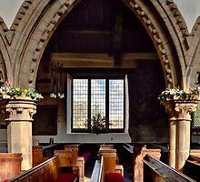 Bedale church window 4 by jasminewang