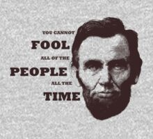 you cannot fool all the people all the time by jaredfin