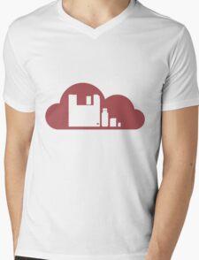 Storage Comparisons - Vector Artwork Mens V-Neck T-Shirt