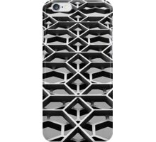 Lattice 1 B&W iPhone Case/Skin