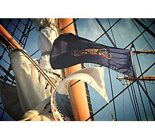 Flags and Mast Photographic Print