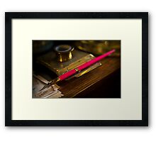 A Quill Framed Print