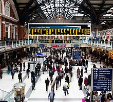 Liverpool Street Statiom by Mattia  Bicchi Photography