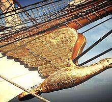 Eagle Masthead by DAVID  SWIFT