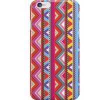 Aztec #10 - Red Pattern iPhone Case/Skin