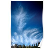 Winter Clouds I Poster