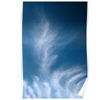 Winter Clouds II Poster