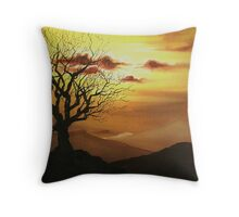 The Old Oak Tree Throw Pillow