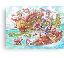 Chrono Cross: Swim Canvas Print