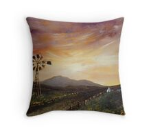 Dusk in the Countryside Throw Pillow