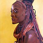 Young Himba lady by Beth Neden