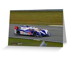 Toyota Racing No 8 Greeting Card