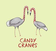 Candy Cranes by Sophie Corrigan