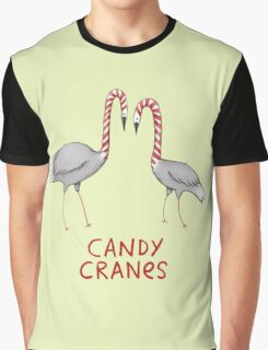 Candy Cranes Graphic T-Shirt