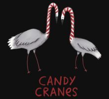 Candy Cranes Baby Tee