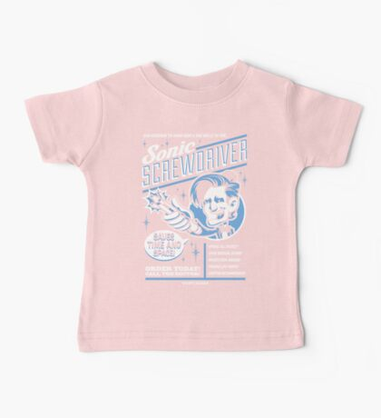 Sonic Screwdriver Ad Baby Tee