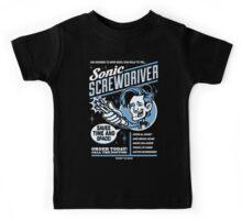 Sonic Screwdriver Ad Kids Tee