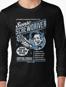 Sonic Screwdriver Ad Long Sleeve T-Shirt