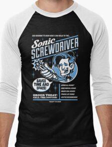 Sonic Screwdriver Ad Men's Baseball ¾ T-Shirt