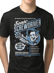 Sonic Screwdriver Ad Tri-blend T-Shirt