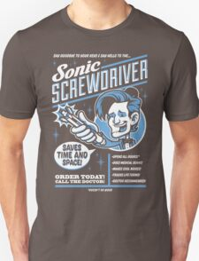 Sonic Screwdriver Ad T-Shirt