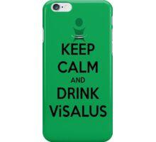 Keep Calm & Drink Vi-Salus iPhone Case/Skin
